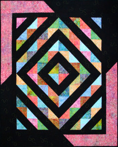 Amish Revisit Bali Quilt Pattern