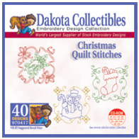 Dakota Collectibles - Christmas Quilt Stitches