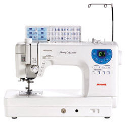 Janome Memory Craft 6300 Professional MC6300P