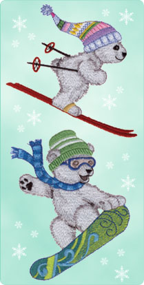 Polar Pals Embroidery Collection #12322