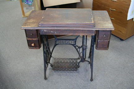 Antique Sewing Cabinet | Temecula Valley Sewing Center