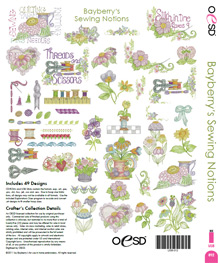 Bayberry's Sewing Notions - 49 Designs