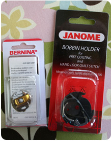 Bernina & Janome Specialty Bobbin Cases