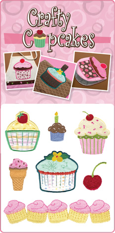 Dakota Collectibles Crafty Cupcakes