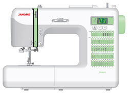 New Sewing Machine: Janome DC2012