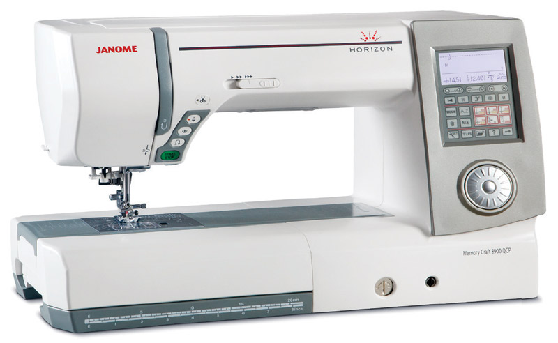 new janome horizon memory craft 8900 qcp sewing machine