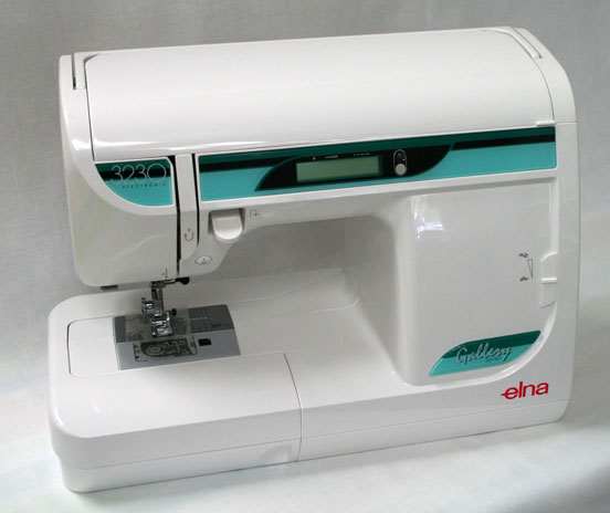 Elna 3230 Sewing Machine - Closed and Angled #2