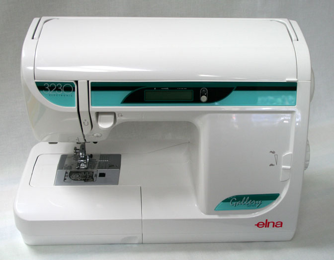 Elna 3230 Sewing Machine Closed