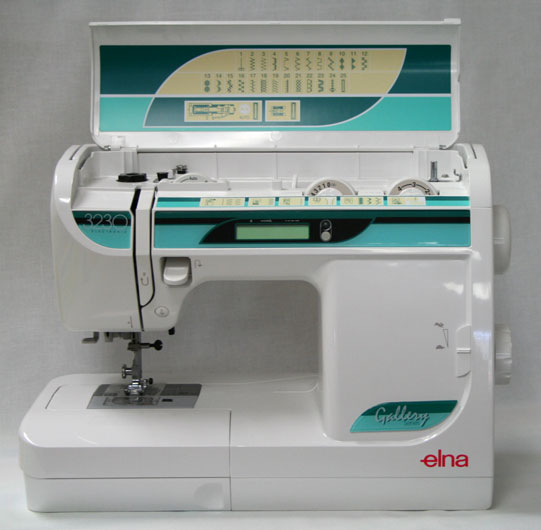 Elna 3230 Sewing Machine - Open Front View