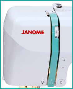 Janome DC2010 Buttons And Tension Knob