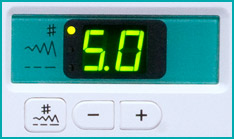 Janome DC2010 Controls