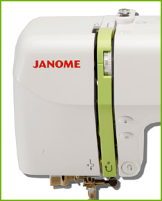 Janome DC2012 Buttons and Tensioner