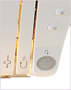 Janome DC3050 Buttons