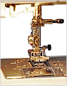 Janome DC3050 Stitch Plate Area