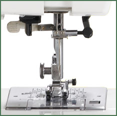 Janome HD3000 Needle Plate Area