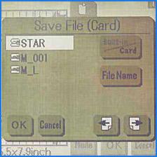 Janome Memory Craft 300E File Saving