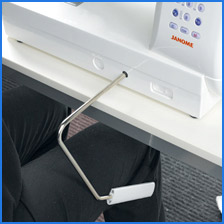 Janome Memory Craft 6500 Professional Knee Lever