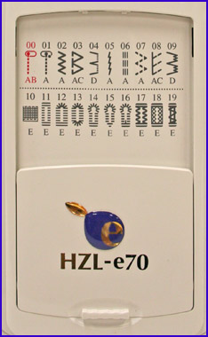Juki HZL-e70 Stitch Package