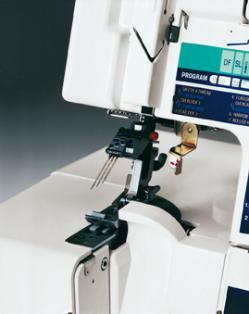 Elna 745 Serger Tilting Needle Clamp
