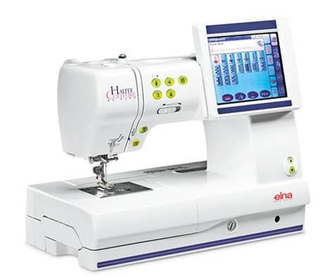 Elna 9600 Haute Couture Sewing & Embroidery Machine