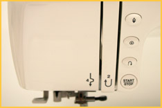 Janome Magnolia 7330 Buttons