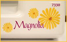 Janome Magnolia 7330 Graphics