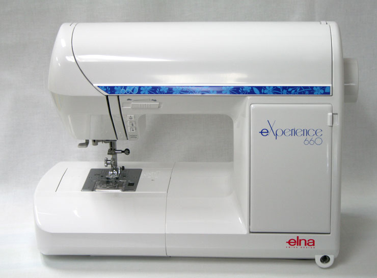 The Elna eXperience 660 Sewing Machine - Closed