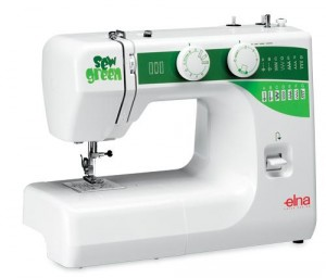 Elna Sew Green Sewing Machine