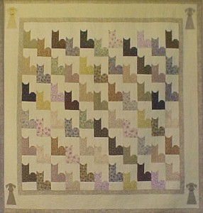 Gingham Dogs Meet Calico Cats Quilt Pattern