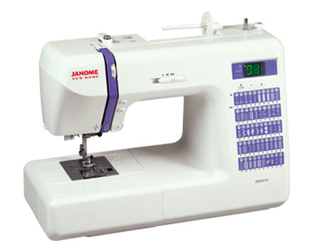 Janome DC2014 Sewing Machine - Angled View
