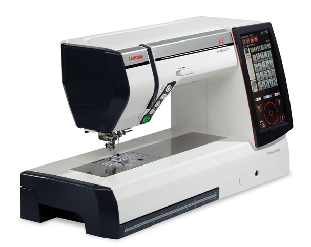 Janome 12000 Sewing Machine - Angled View