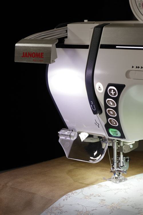Janome 12000 Sewing Machine - Lights