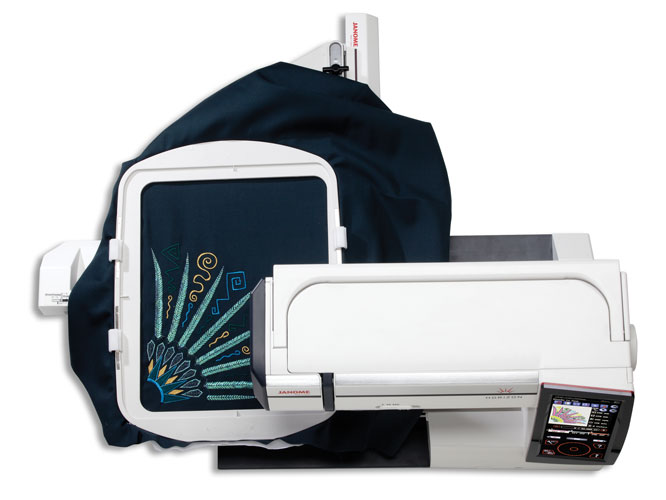 Janome 12000 Sewing Machine - Super Large Embroidery