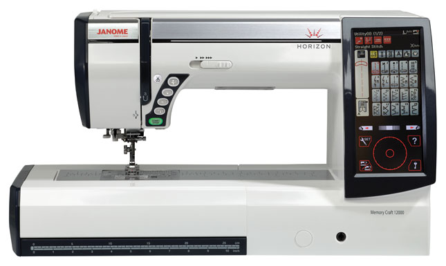 Janome Horizon Memory Craft 12000 Sewing & Embroidery Machine