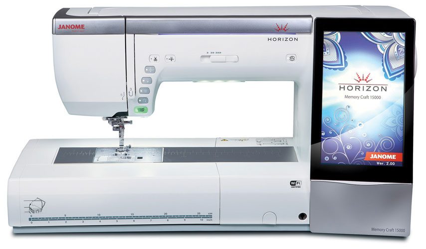 Janome Horizon Memory Craft 15000 Sewing & Embroidery Machine