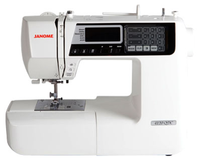 Janome 4120QDC Sewing Machine - Front View