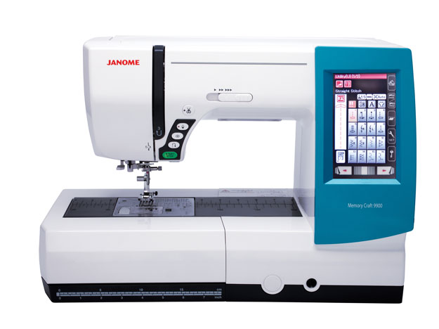 Janome Memory Craft 9900 Sewing & Embroidery Machine + Bonus