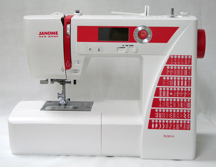 Janome DC2015 Limited Edition Sewing Machine - Front View