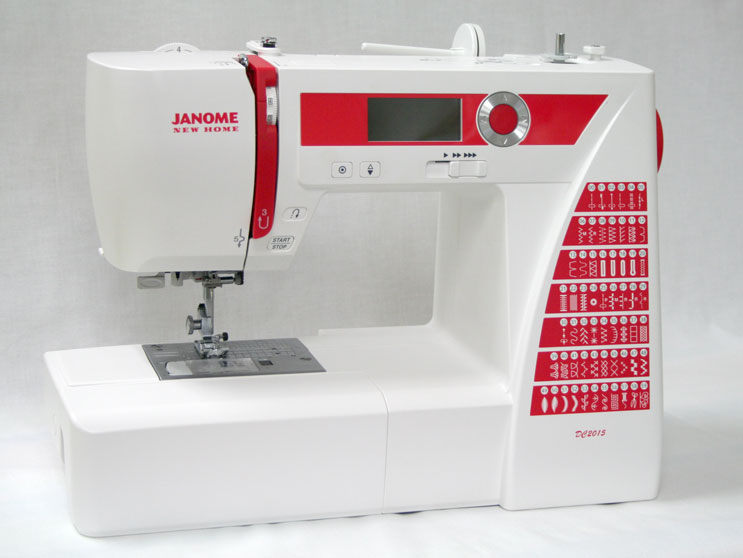 Janome DC2015 Sewing Machine - Angled View