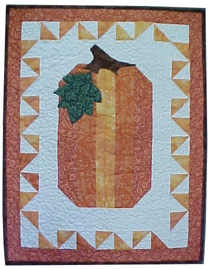 Pumpkin Wall Quilt Pattern