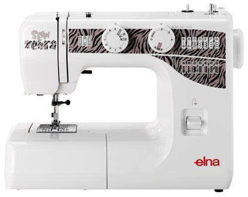 Elna Sew Zebra Sewing Machine