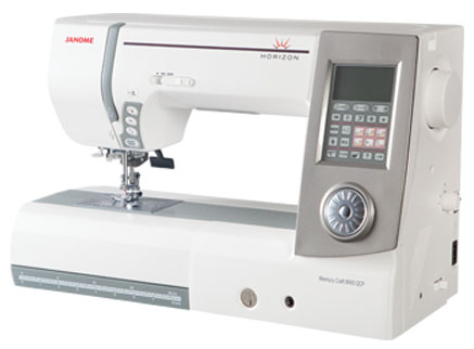 Janome 8900QCP Sewing Machine - Angled View #2