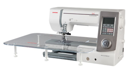 Janome 8900QCP Sewing Machine - Shown With Slide Table