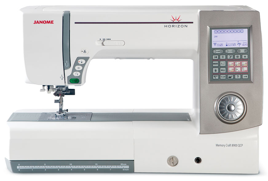 Janome 8900QCP Sewing Machine
