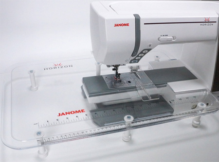 Janome Extra Wide Table and Cloth Guide Set