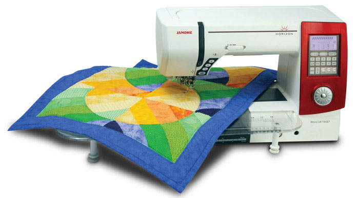The Original Janome Horizon 7700 - Perfect For Quilters