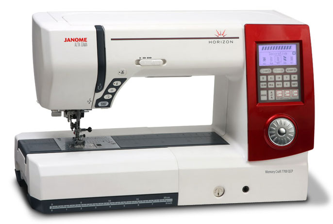 The Original Janome Horizon 7700 Sewing Machine