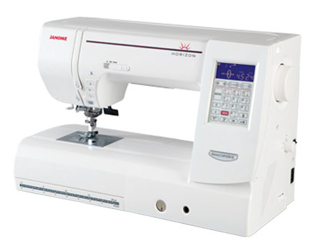 Janome Horizon 8200 QC Sewing Machine - Angled View #2