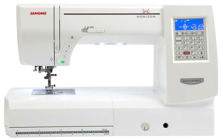 Janome Horizon 8200 QC Sewing Machine