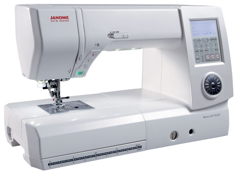 Janome New Home 7700 Sewing Machine + Bonus